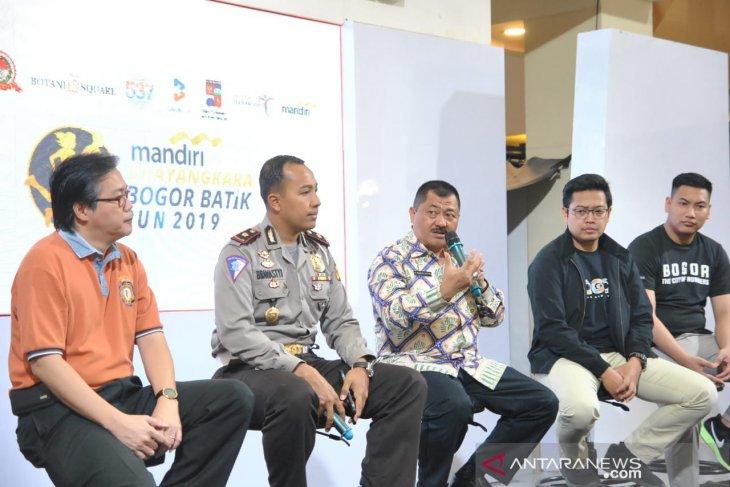 'Mandiri Bhayangkara Bogor Batik Run' targetkan 2.500 peserta