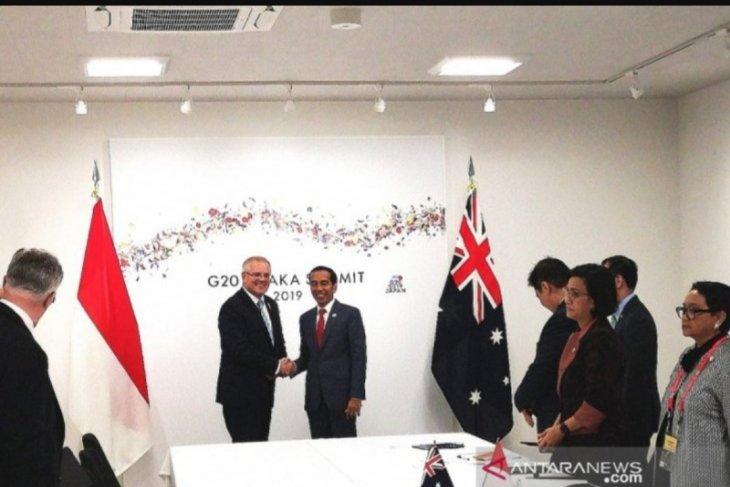 Presiden Jokowi dorong kerja sama RI-Australia dalam pendidikan vokasi