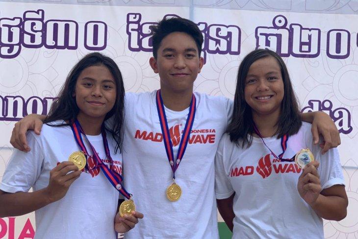Indonesia dulang empat emas renang junior Asia Tenggara