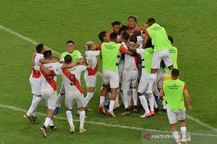 Ringkasan perempat final, Argentina semifinalis tanpa adu penalti di Copa America