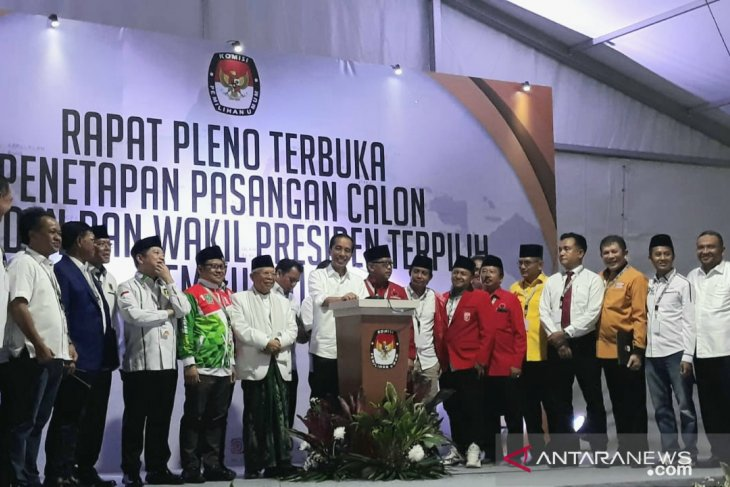 Jokowi says he is ready to continue his work