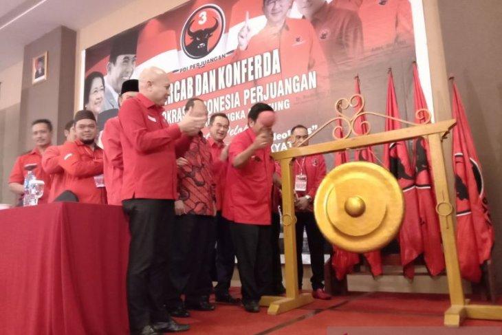 PDIP Babel gelar Konferda dan Konfercab 2019