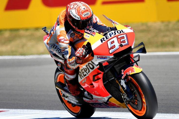 Marquez akui kecepatan Yamaha dan Suzuki di GP Belanda