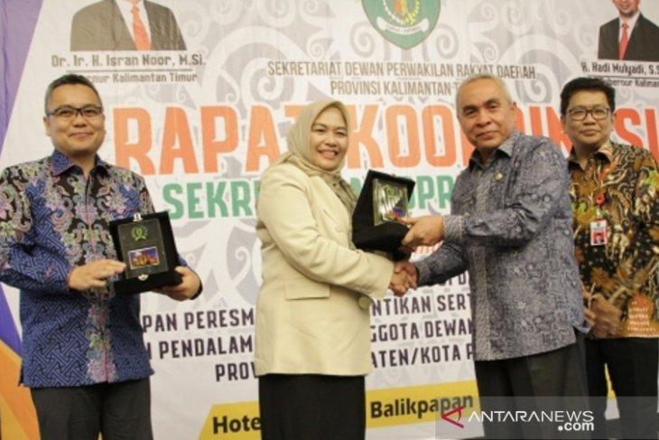 Sekretariat DPRD  gelar  Rakor pelantikan anggota dewan