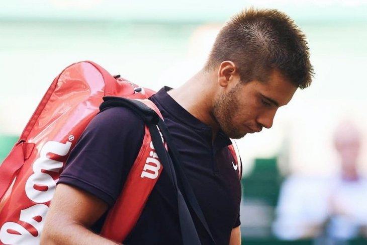 Borna Coric mengundurkan diri dari Wimbledon  karena cedera
