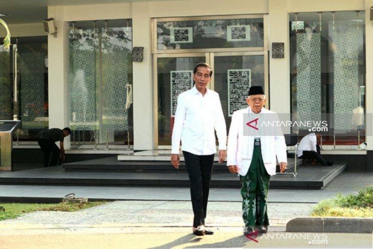 Jokowi mengajak Prabowo-Sandi bersama bangun negeri