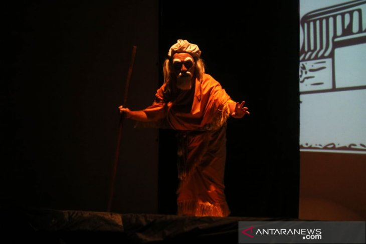 Artists from Bali, Singapore, US collaborate on 'wayang' performance
