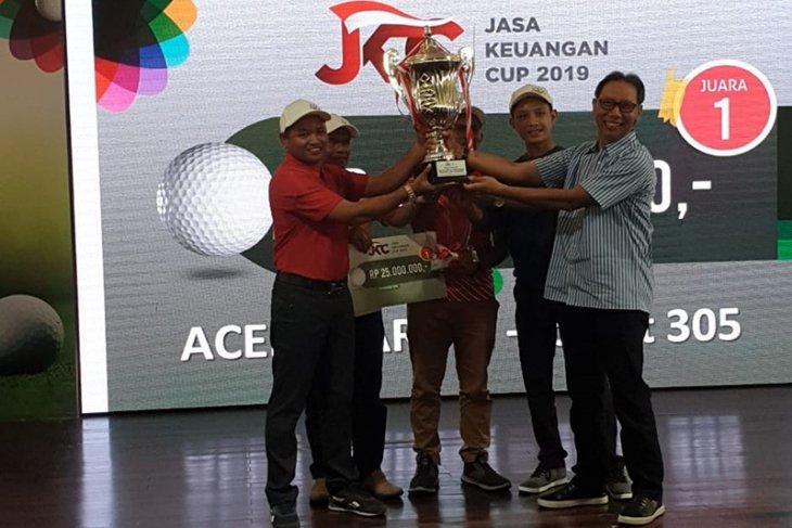 Bank Aceh Juara I Golf JKC 2019