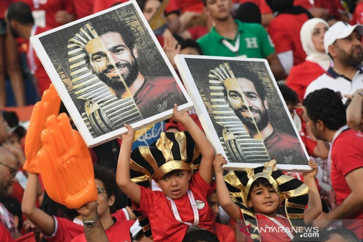Performa Mesir sempurna di Grup A Piala Afrika