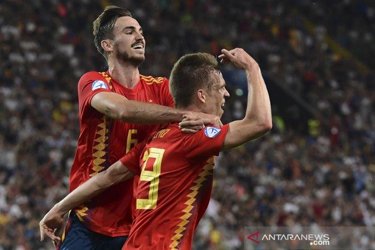 Spanyol juara Piala Eropa U21