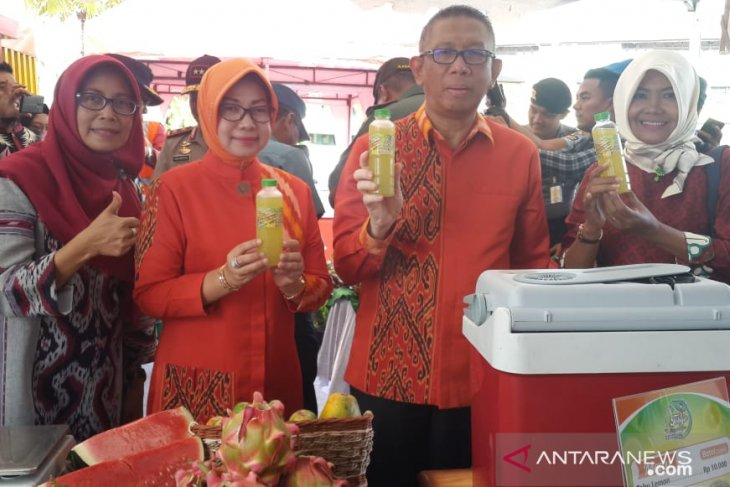 Distan Kalbar pamerkan produk unggulan pertanian di STQ Nasional XXV di Pontianak