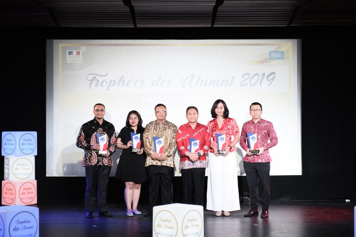 French government bestows awards on six Indonesian figures