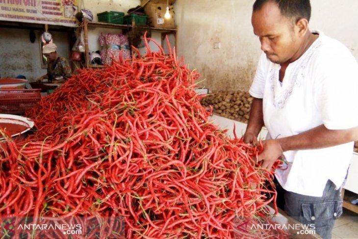 Cabai merah kembali jadi penyumbang inflasi