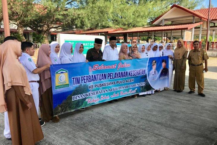 Aceh Besar kirim tim perbantuan pelayanan kesehatan ke  Pulo Aceh