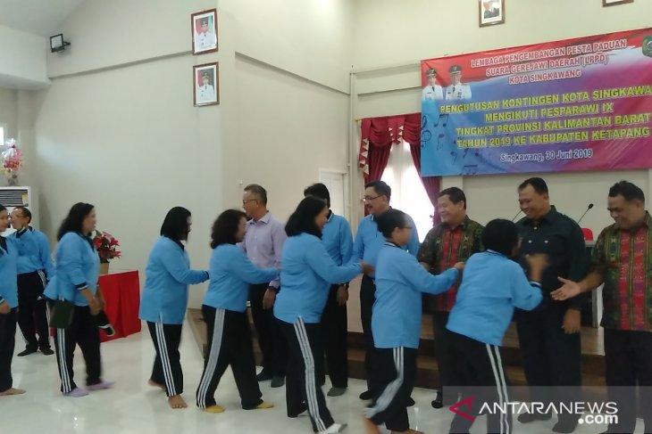 Singkawang utus 110 peserta Pesparawi Kalbar di Ketapang