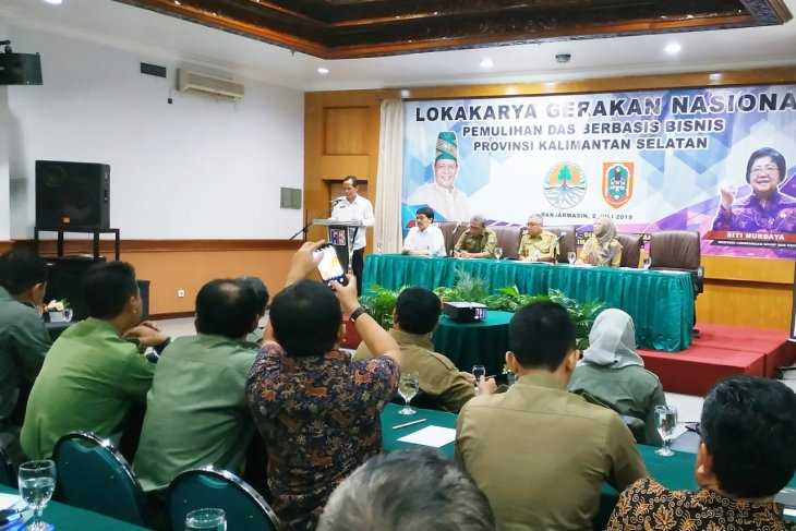 South Kalimantan piloted watershed rehabilitation
