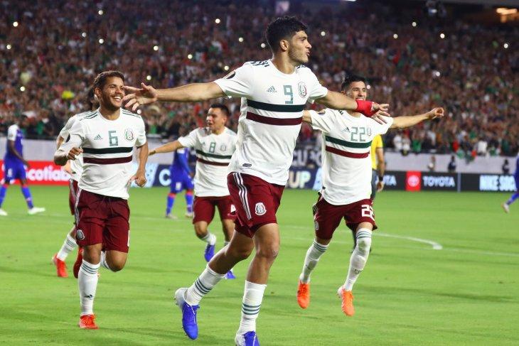 Penalti Jimenez bawa Meksiko masuk final Piala Emas