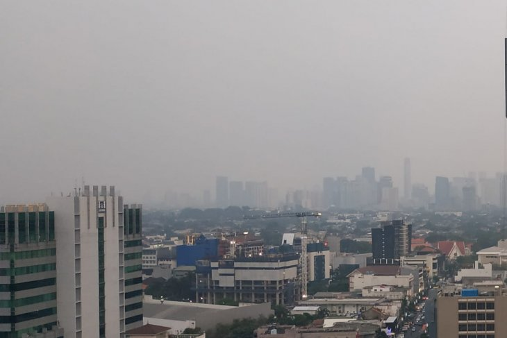 Clean air experienced only 34 days a year in Jakarta