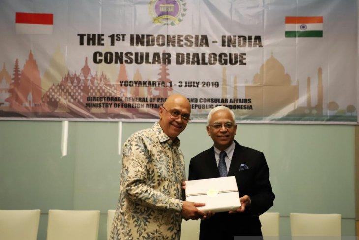 1st Indonesia-India Consular Dialogue held in Yogyakarta