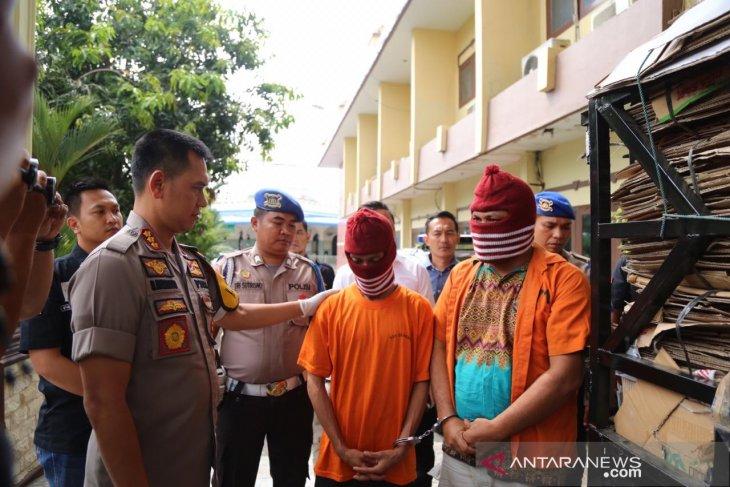Polrestabes Medan ringkus dua kurir ganja asal  Aceh