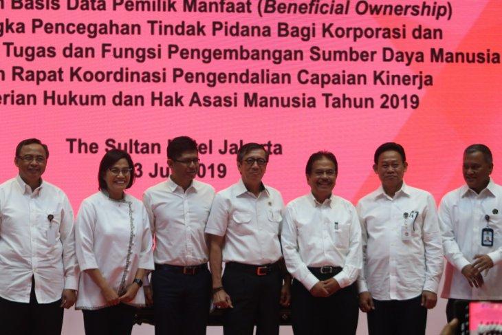 Enam kementerian sepakati MoU pemanfaatan basis data pemilik manfaat