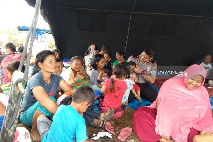 120 jiwa korban kebakaran Nagan Raya bertahan di tenda  pengungsian
