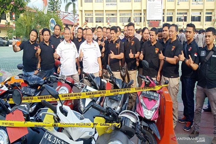 Polisi bekuk sindikat pencurian kendaraan bermotor