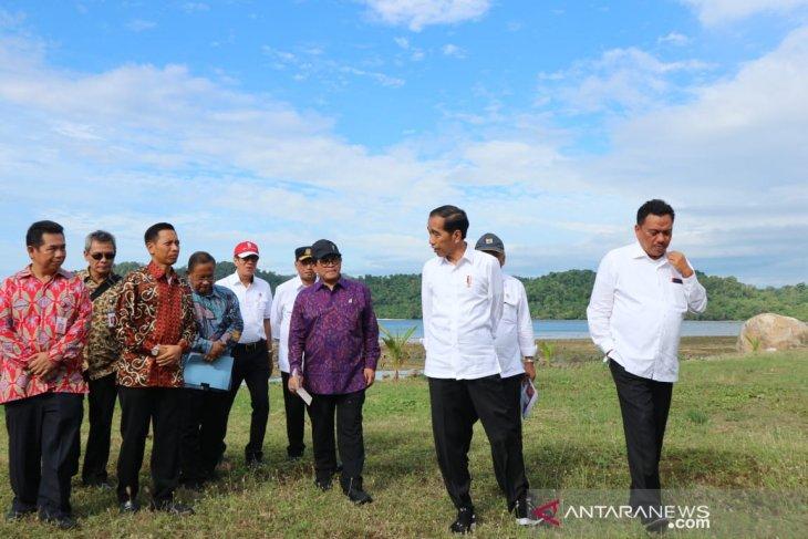 Jokowi addresses obstacle facing Likupang economic zone development