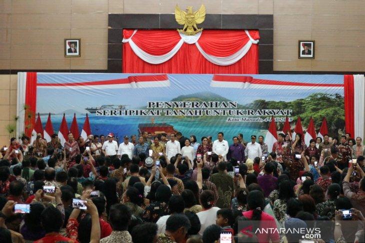 Jokowi: jangan tidak sapa karena beda pilihan