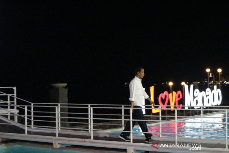 N Sulawesi tourism facilities should meet four-star standards: Jokowi