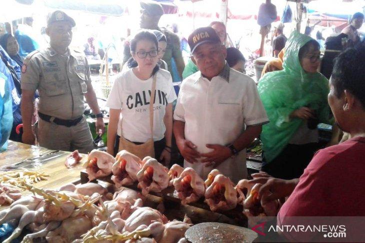 Harga daging ayam beku di Ambon  naik