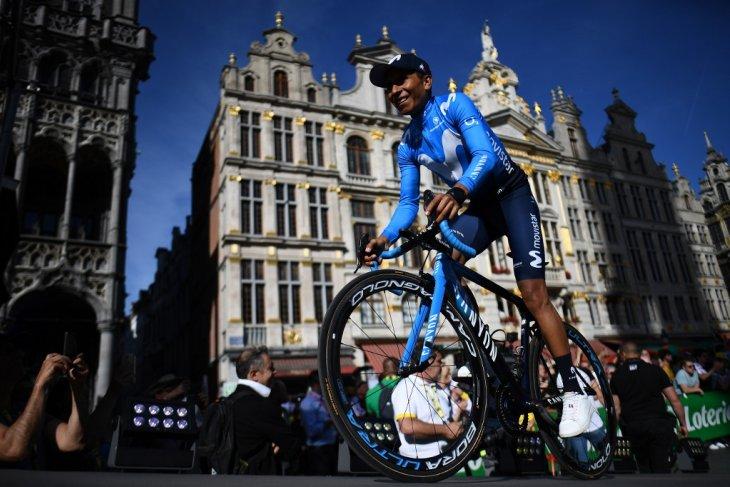 Peluang Quintana besar setelah Froome absen