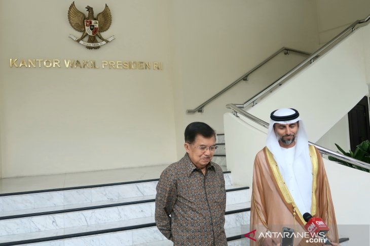 Kalla, UAE Minister explore avenues to boost investment in Indonesia