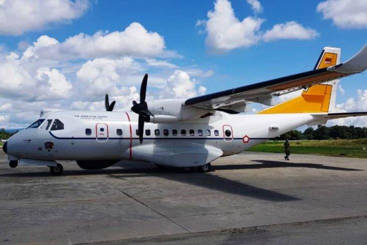 CN 235 MPA diperbantukan cari heli MI 17