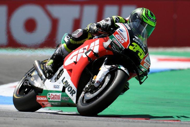 Cedera tulang kering, Crutchlow tetap turun di GP Jerman