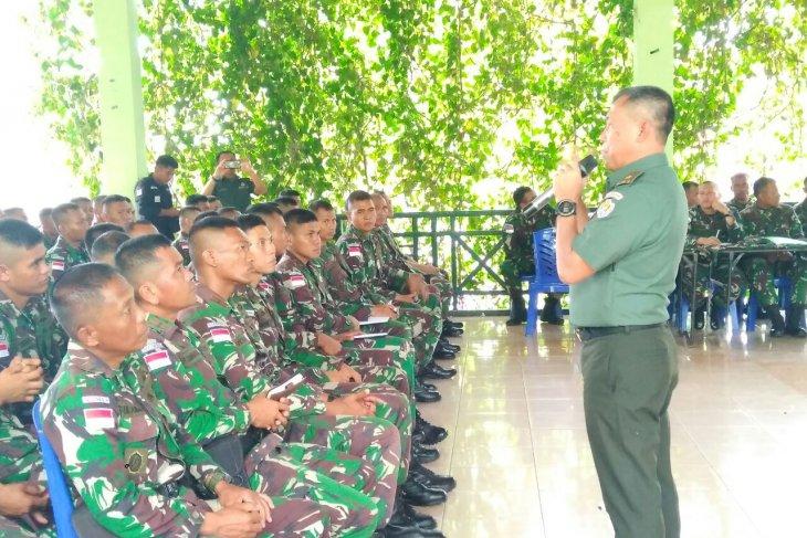 Satgas pengamanan perbatasan, Yonif 713/Satyatama ikuti pembekalan