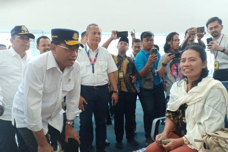 Transportation Minister observes Kertajati Airport's facilities