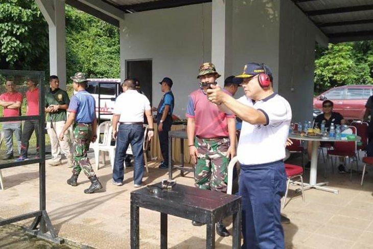 Pangkoarmada III olahraga bersama Forkopimda Maluku di Ambon