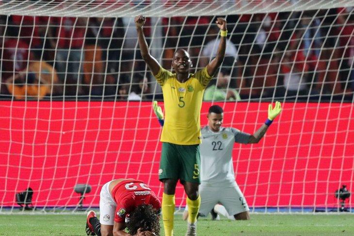 Mesir tersingkir di Piala Afrika setelah dikalahkan Afsel