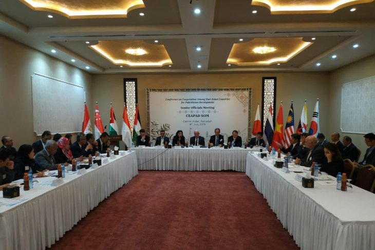 Indonesia attends CEAPAD Meeting in Palestine