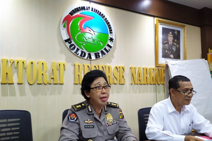 Kasus narkotika di Bali turun selama semester I/2019