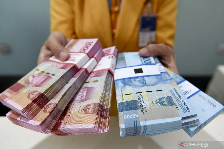 Kurs rupiah menguat seiring turunnya imbal hasil obligasi AS