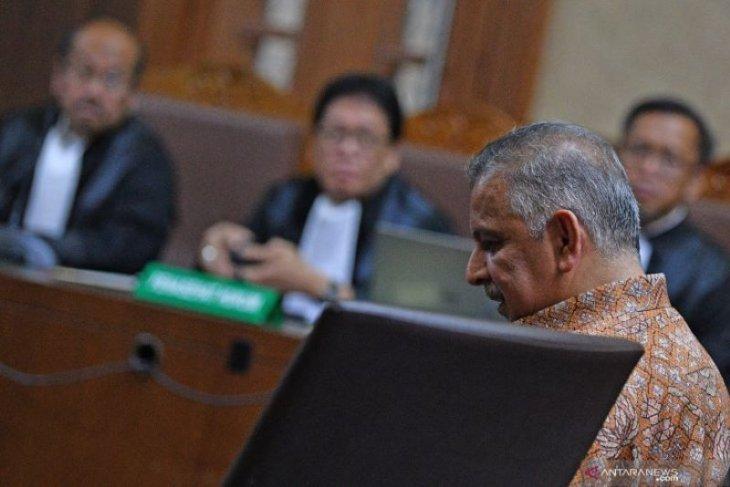 Majelis hakim Tipikor tolak eksepsi  Sofyan Basir.