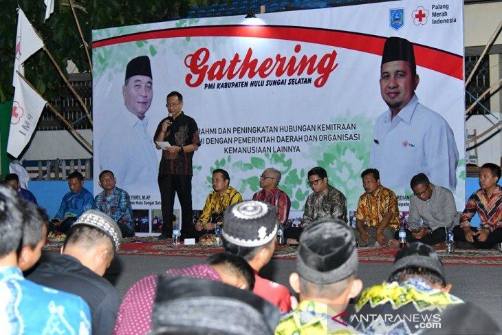 Sekda HSS : Gathering PMI sarana silaturrahmi dan koordinasi