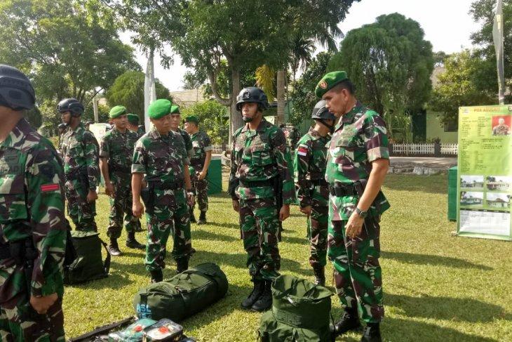 Pangdam II/Sriwijaya: Satgas pengaman wilayah perbatasan RI-RDTL prajurit pilihan