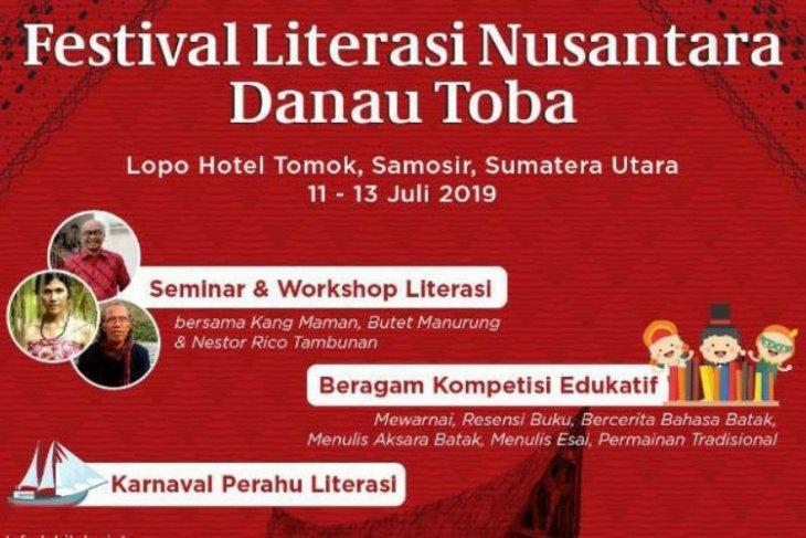 Samosir tuan rumah Literasi Nusantara Danau Toba 2019