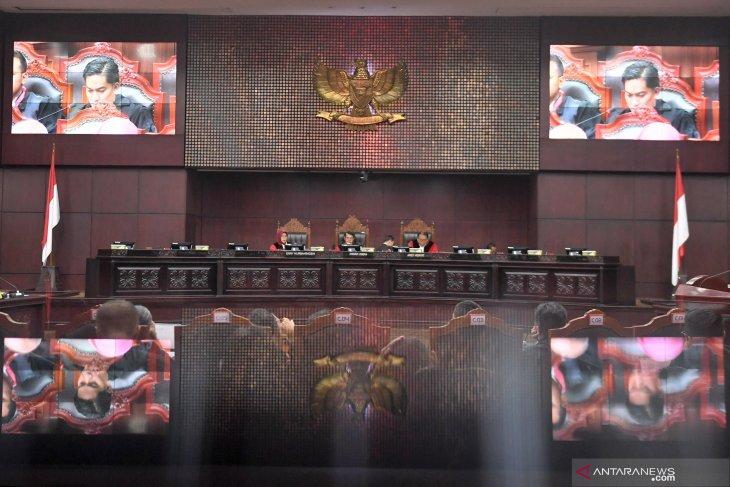 MK mulai sidangkan sengketa pileg dari sembilan provinsi