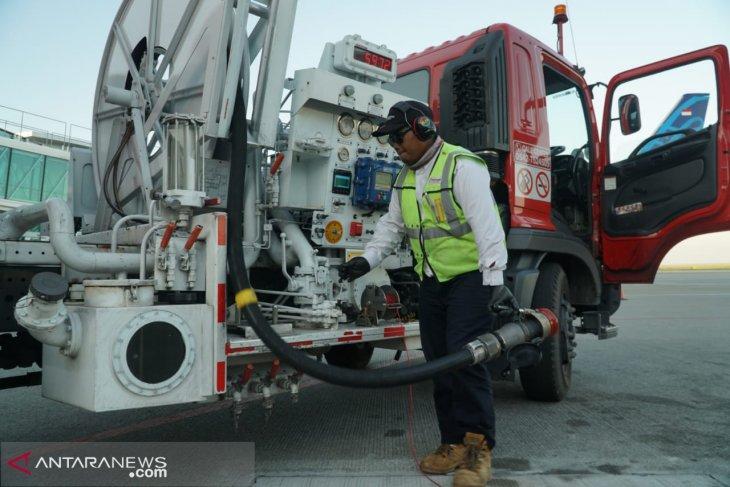 Pertamina tambah stok avtur untuk penerbangan haji dari Bandara Sepinggan