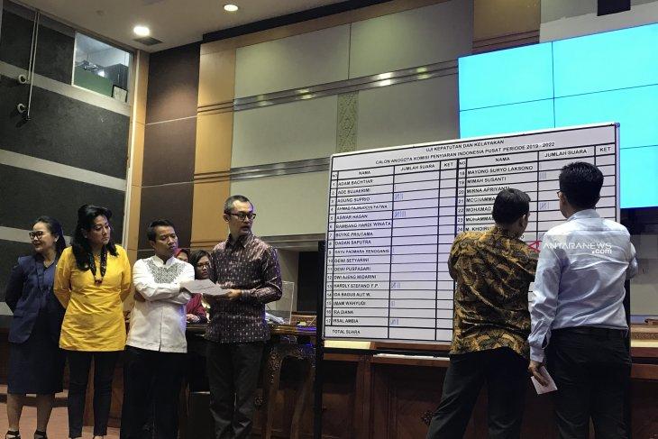 DPR sahkan sembilan Komisioner KPI 2019-2022