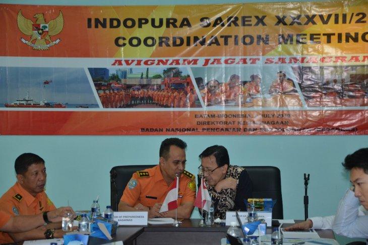 September, Indonesia-Singapura latihan SAR bersama di Kepri